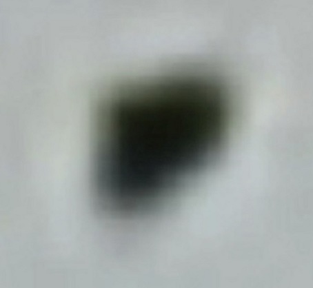 One of the objects enlarged