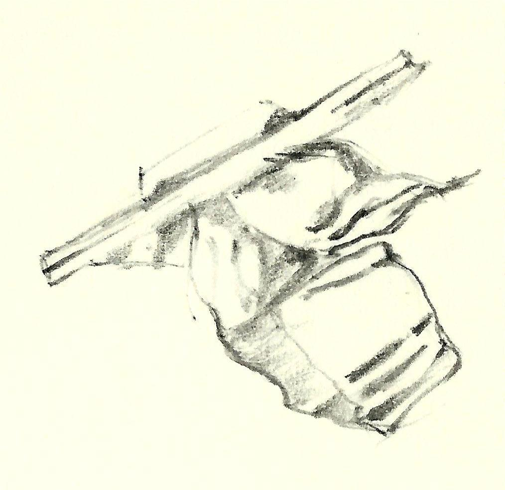 Artist impression of object