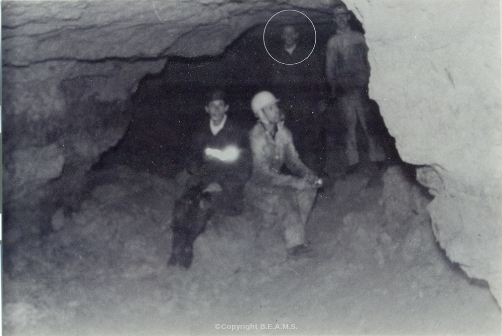 Genuine Spirit Picture of Dead Caver - 1960's Possibly Surrey, UK